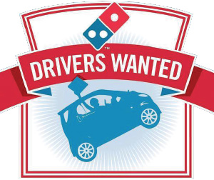 D O M I N O S  P I Z Z A- Help Wanted: JSEC Students Apply Today..Drivers Only