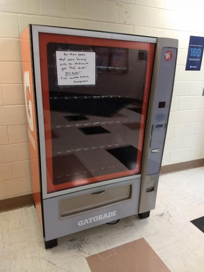 Vending Machines--Should Students Suffer Due to a Few?--Opinion Piece