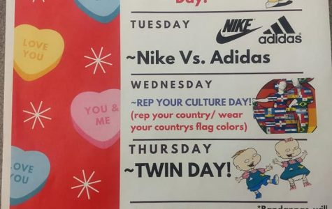 "JSEC ""Loves"" Spirit Week + Pep Rally Feb 10-14th.  Fun Week Planned!"