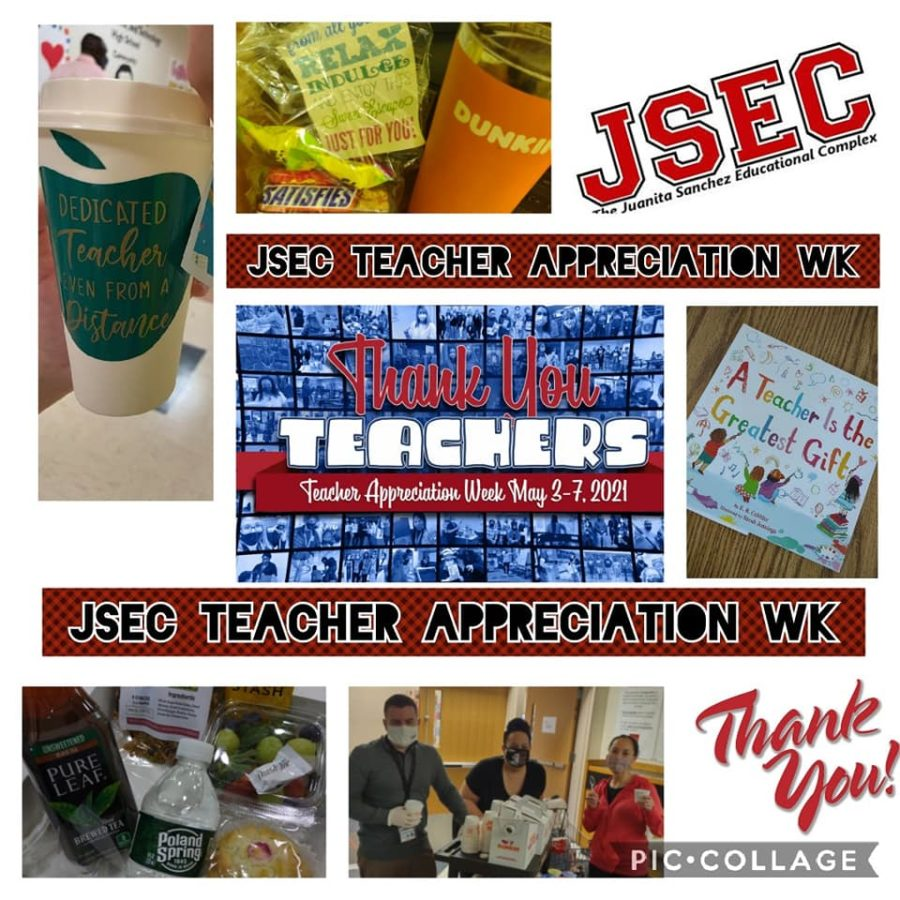 Students and Administration Celebrate JSEC Teachers