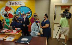President of Americas largest teachers union visits JSEC!